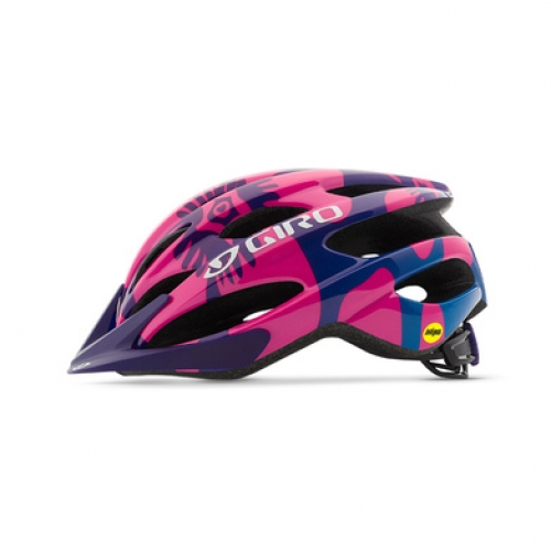 Giro RAZE 17 mat berry/blue flowers uni