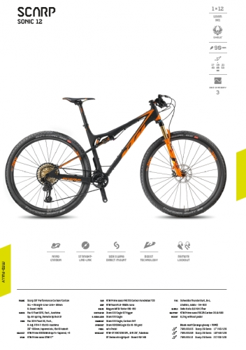 KTM Scarp Sonic Superlight 218
