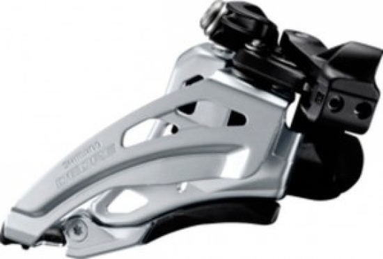 Umwerfer Shimano Deore Side Swing FD-M617LX6,Front Pull,66-69° schw.Low-C