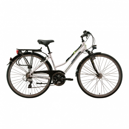 Freeway 21 V-Brake 48cm weiss/grün /18 Lady
