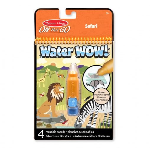 Water Reveal Pad - Safari