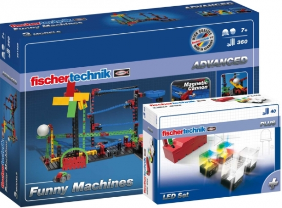 Funny Machines + LED Set