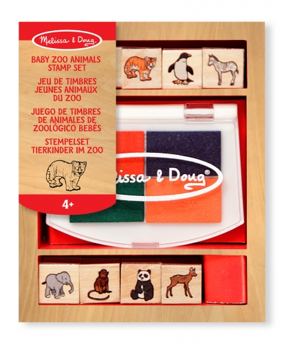 Baby Zoo Animals Stempel Set