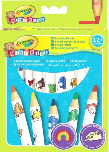 Crayola Mini Kids Buntstifte gr.8 Stck.