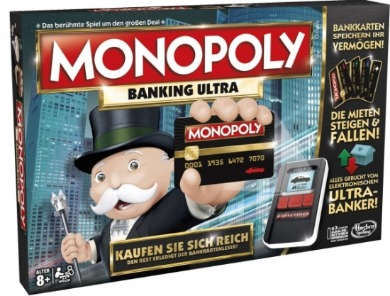 Monopoly Banking Ultra - österr. Version