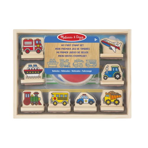 My First Stamp Set- Vehicles