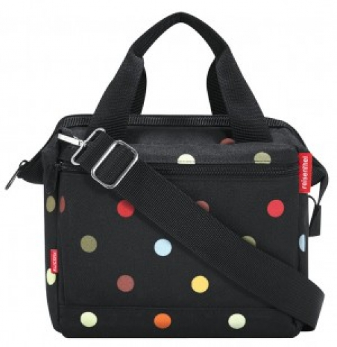 Lenkertasche KLICKfix ROOMY dots, 4 ltr, ca. 630g 0372DO