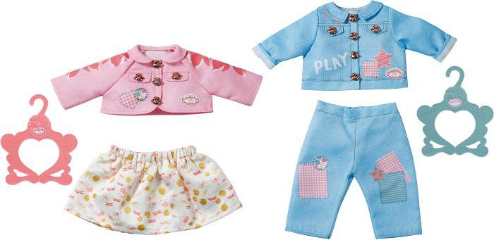 Baby Annabell Outfit Boy & Girl, sort.