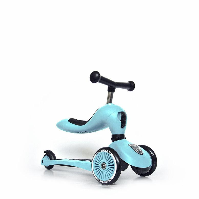 Scoot & Ride Highwaykick 1 blueberry
